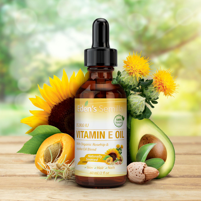 Image result for Eden's Semilla's 100% Natural Vitamin E Oil